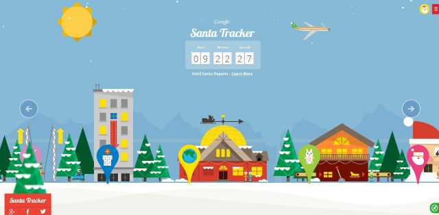 Google Santa Message: Christmas Village of Fun