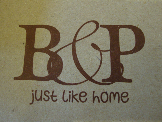 B & P: Just Like Home Cooking