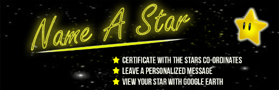 Win a Chance to Name A Star!