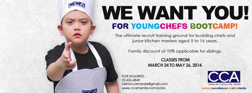 cca young chefs