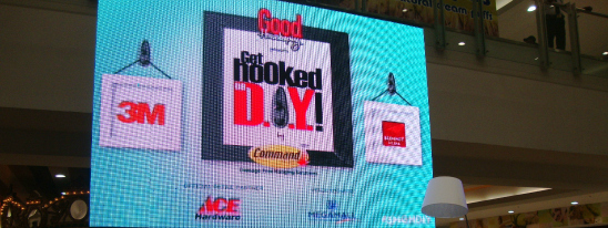 "Good Housekeeping and 3M Command Brand: ""Get Hooked on DIY"" Event"