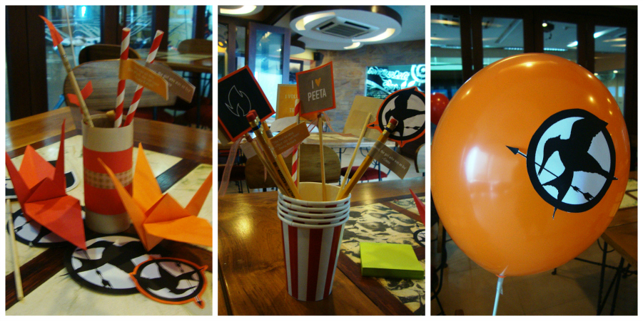 Hunger Games decors