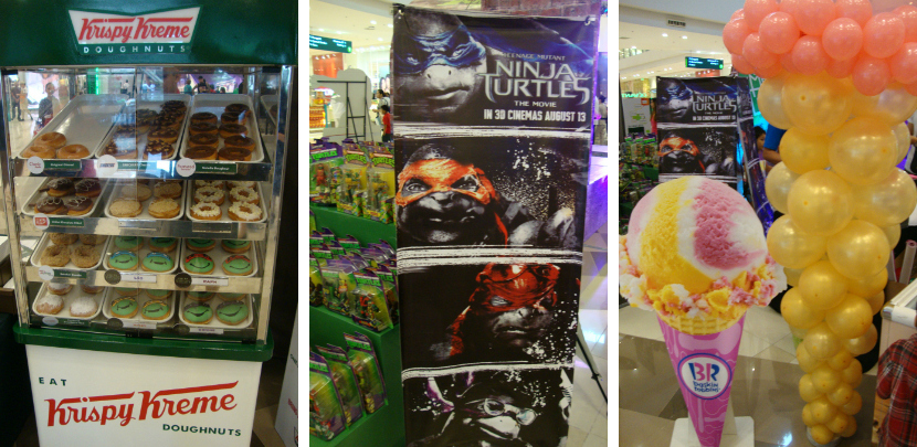 Catch The Teenage Mutant Ninja Turtles At Fairview Terraces