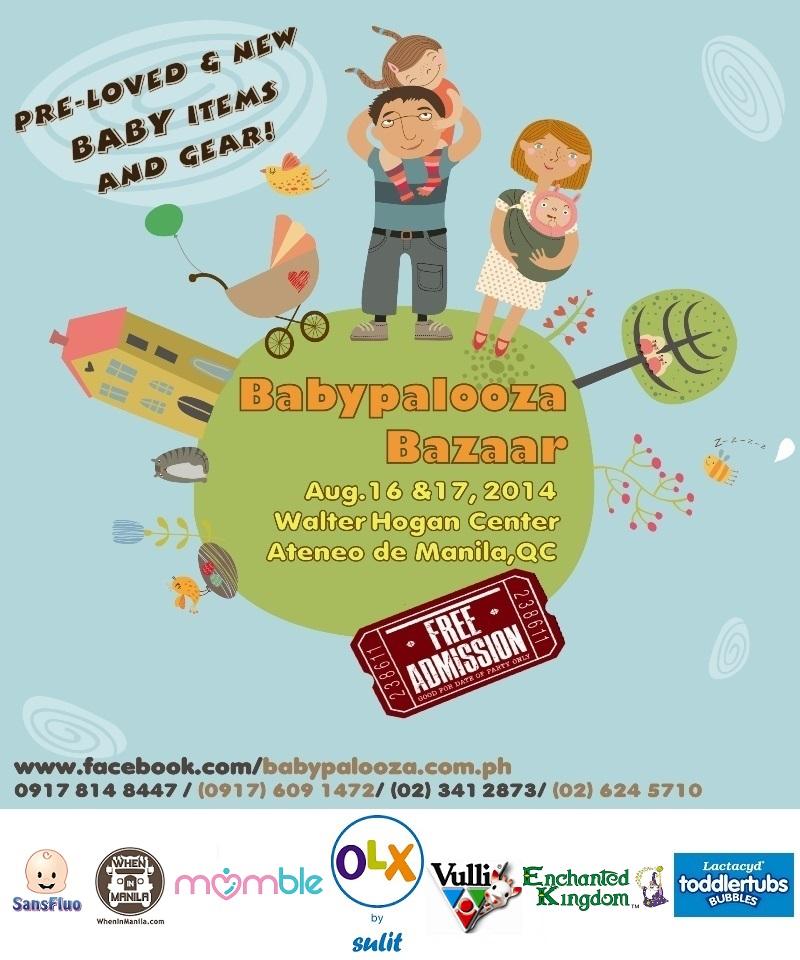 .Babypalooza Aug 2014 flyer