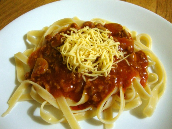3-cheese spaghetti