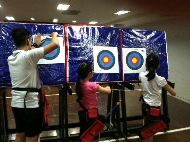 kodanda archery range class lifestyle mommy blogger www.artofbeingamom.com 08