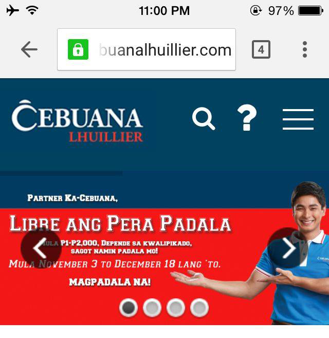 cebuana dating sign up Cebuana lhuillier's pera this means you don't have to wait in line for your turn and you don't have to fill up any cebuana cares cebuana lhuillier.