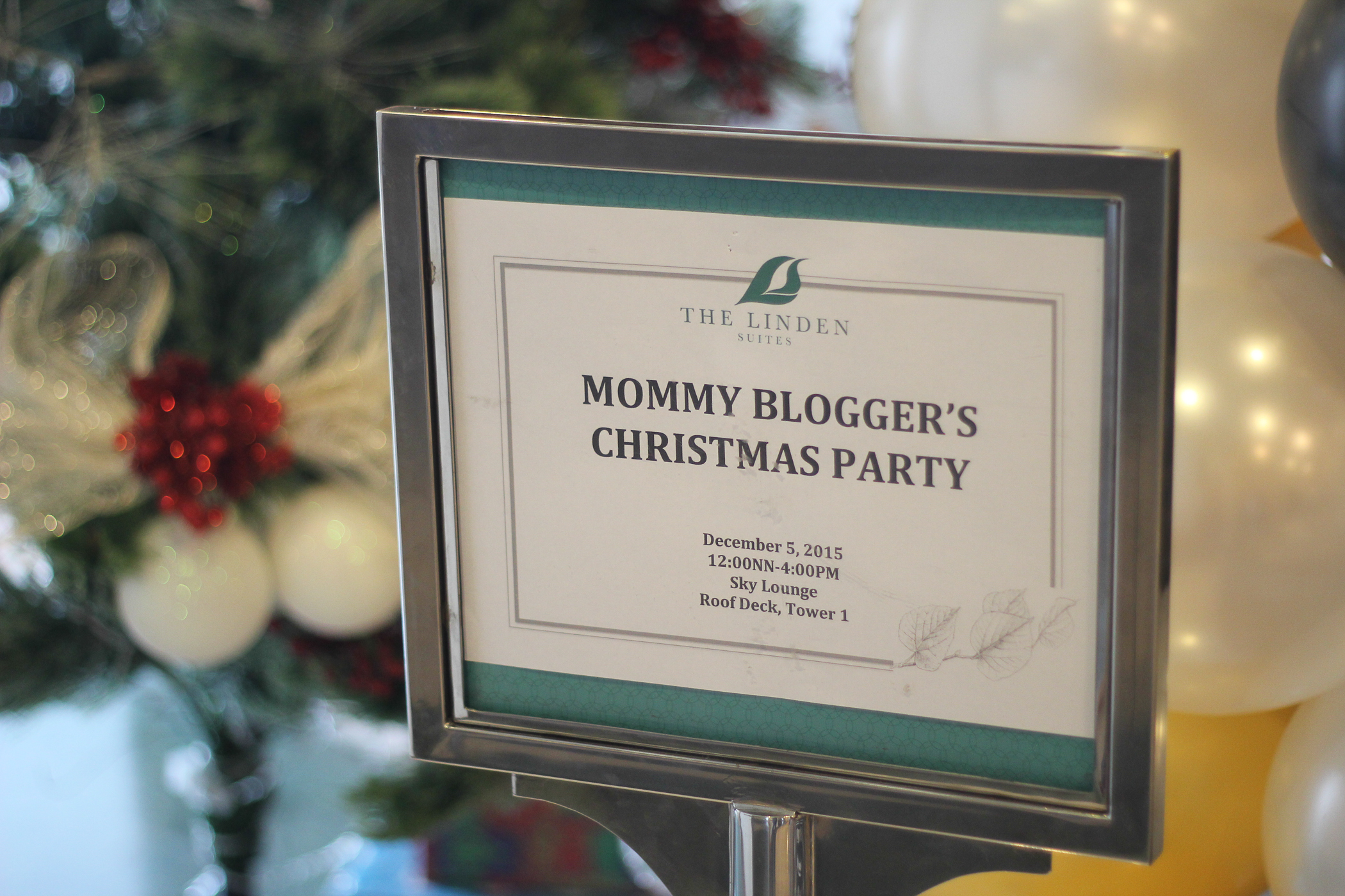 Mommy Bloggers Philippines Christmas Party 2015!