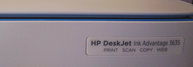 HP DeskJet 3635 Ink Advantage All-in-One Printer 24-hour Hassle-Free Printing