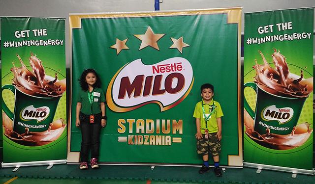 milo stadium at kidzania manila lifestyle mommy blogger www.artofbeingamom.com 04