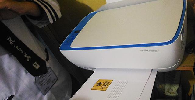 HP DeskJet 3635 Ink Advantage All-in-One Printer for school lifestyle mommy blogger www.artofbeingamom.com 02