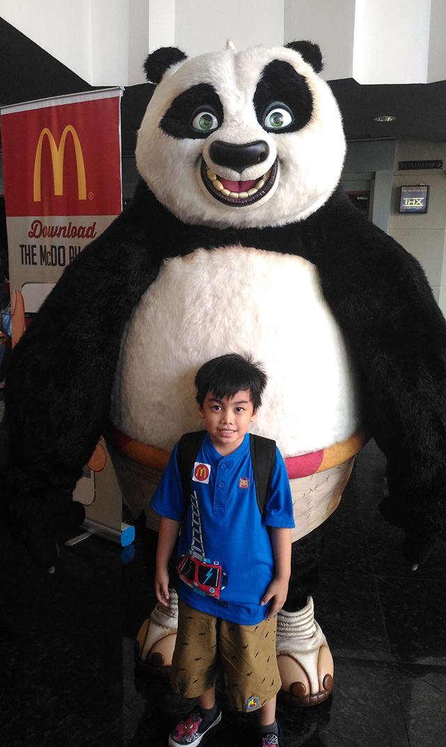 kung fu panda 3 mcdonalds side dish corn cup lifestyle mommy blogger www.artofbeingamom.com 02