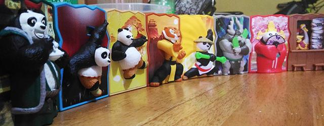 New at McDonalds: Kung Fu Panda 3 Toys and the Corn Cup