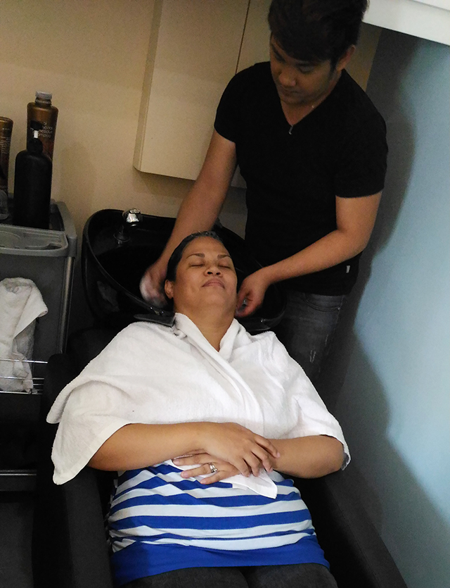 nouvelle salon brazilian blowout hair salon manicure pedicure fairview lifestyle mommy blogger www.artofbeingamom.com 06