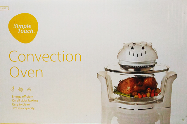 Using the Simple Touch Convection Oven