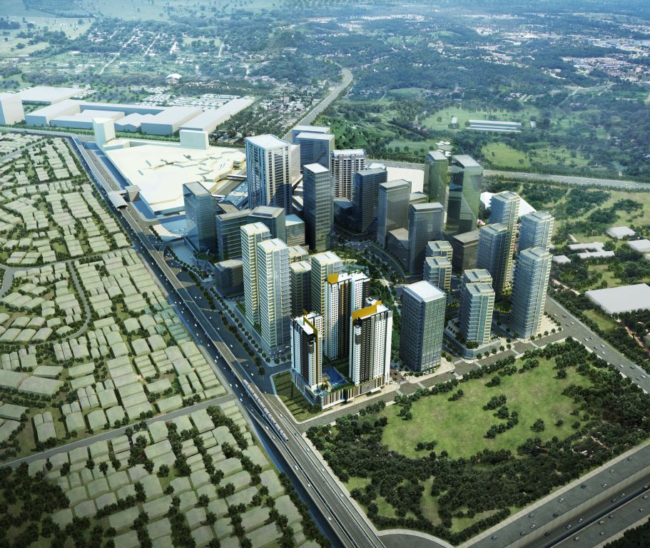 Vertis North_Aerial_from EDSA