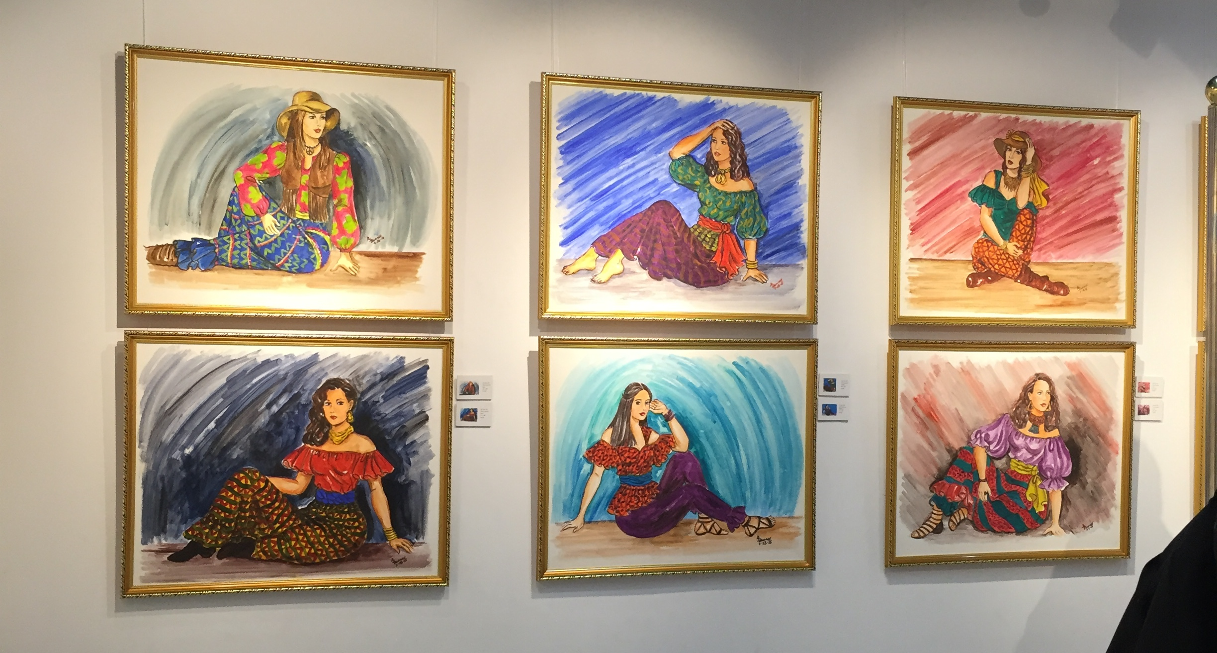 Boho in a Solo: A Hippie Chic Painting Exhibit