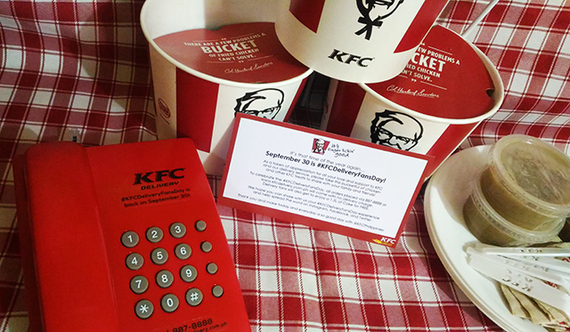 The Much Awaited KFC Delivery Fans Day