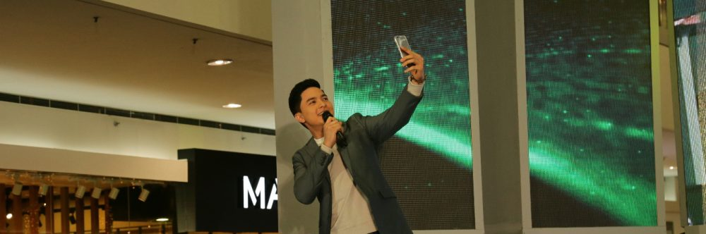 The New Face of the OPPO F1s Limited Selfie Expert and New Endorser Alden Richards