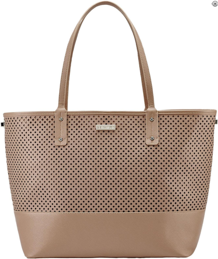 new-moms-belly-band-Skip Hop Duet Diaper Tote - Taupe