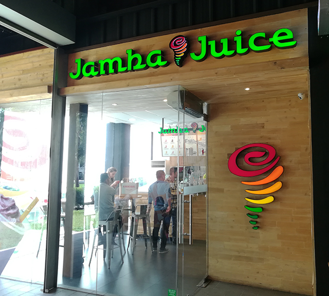 Very vibrant and energetic environment from the ambiance to the staff