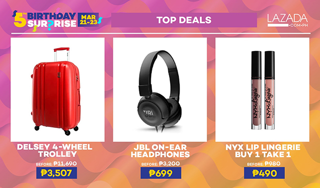 Lazada Philippines 5th Birthday Surprise Is Strongest Year Yet