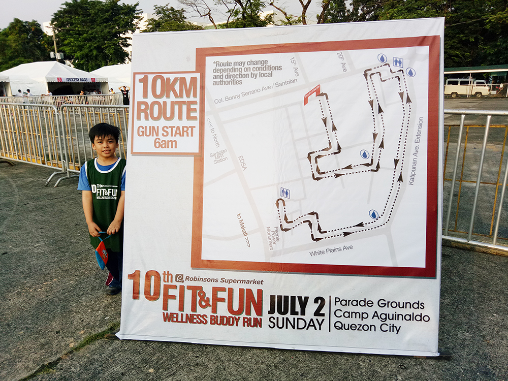 Robinsons supermarket 10th buddy run fit and fun wellness at camp aguinaldo Robinson s home furniture philippines